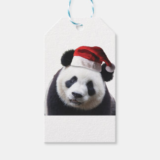 Knippen-panda-kerstman-2 Cadeaulabel