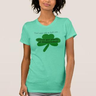 Knoei niet met een Ierse Grappige T-shirt Lass