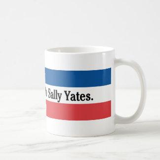 Knoei niet met Sally Yates Mug Koffiemok
