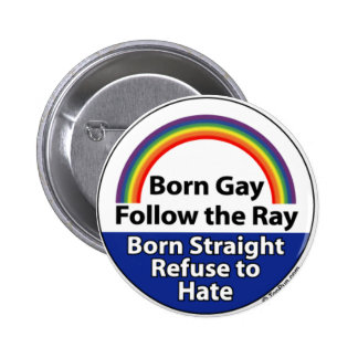 Knoop anti-Homophobia Ronde Button 5,7 Cm