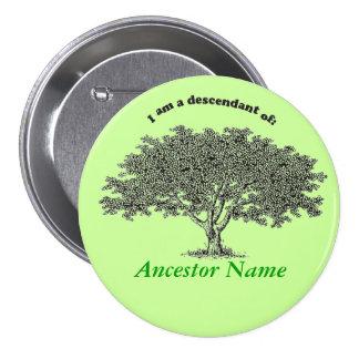 Knoop - de boom van de Genealogie Speldjes