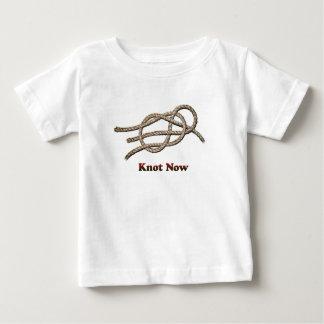 Knoop nu - de Kleren van het Baby Baby T Shirts