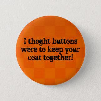 Knoop Ronde Button 5,7 Cm