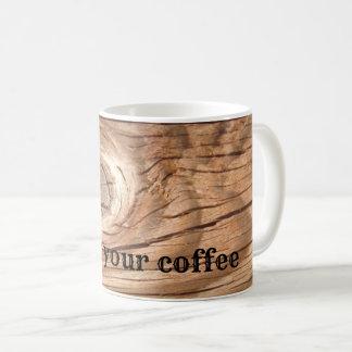 Knoop Uw Koffie Koffiemok