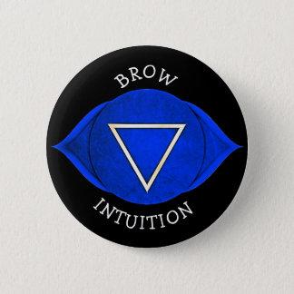 Knoop van Chakra van de Chi van de Intuïtie van Ronde Button 5,7 Cm