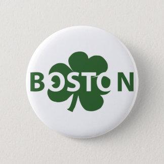 Knoop van de Klaver van Boston de Ierse Ronde Button 5,7 Cm