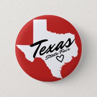 Knoop van de Staat van Texas de Eerlijke Kleine Ronde Button 5,7 Cm