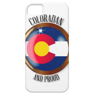 Knoop van de Vlag van Colorado de Trotse Barely There iPhone 5 Hoesje
