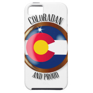Knoop van de Vlag van Colorado de Trotse Tough iPhone 5 Hoesje