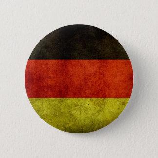 Knoop van de Vlag van Grunge de Duitse Ronde Button 5,7 Cm