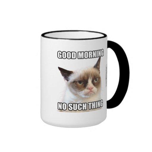 Knorrige Goedemorgen Cat™ - Geen Dergelijk Ding Beker
