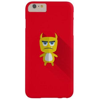 Knorrige maar schattige gele monsteriPhone 7 Barely There iPhone 6 Plus Hoesje