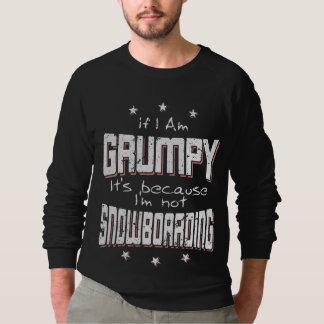 KNORRIGE niet SNOWBOARDING (wht) Sweater