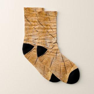 Knotty Houten Plak van het Leven Sokken