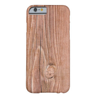Knotty lichtjes Doorstane Houten Korrel Barely There iPhone 6 Hoesje