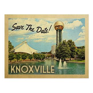 Knoxville bewaart de Datum Tennessee Briefkaart