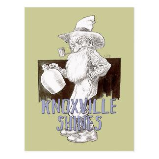 Knoxville glanst briefkaart