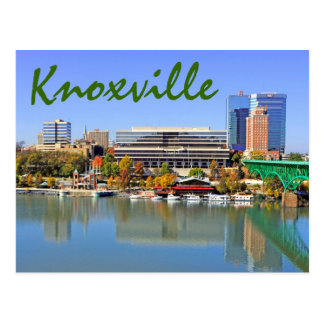 Knoxville, Tennessee, de V.S. Briefkaart