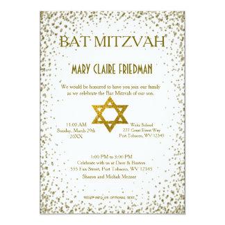 Knuppel Mitzvah | Gouden Confettien Kaart