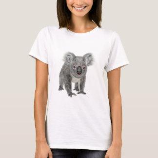 Koala die vooruit eruit ziet t shirt