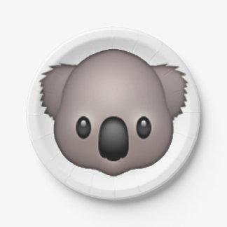 Koala - Emoji Papieren Bordje