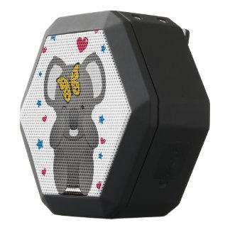 Koala en Vlinder Zwarte Bluetooth Speaker