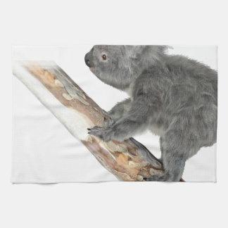 Koala in het Beklimmen van het Profiel Theedoek