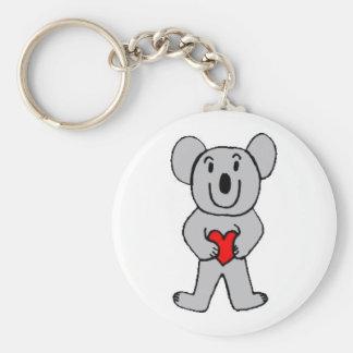 Koala in Liefde Keychain Sleutelhanger
