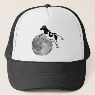 Koe die over de Maan springen Trucker Pet