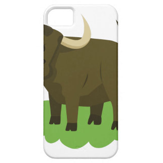 koe in het gras barely there iPhone 5 hoesje