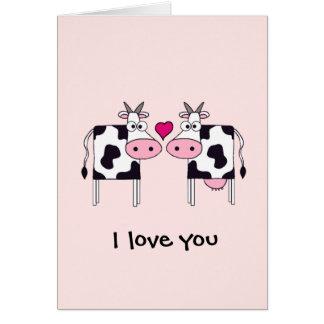 Koeien in Liefde Briefkaarten 0