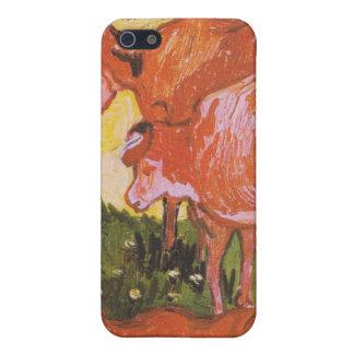 Koeien (na Jordaens) door Van Gogh iPhone 5 Hoesje