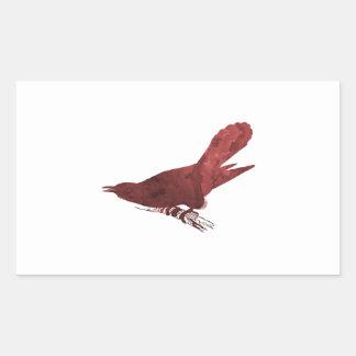 Koekoek Rechthoekige Sticker