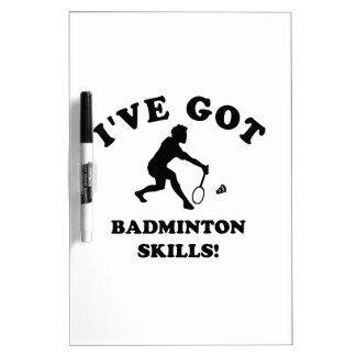koel badmintondesign dry erase whiteboards