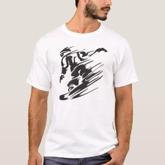 Koel de T-shirt van de Berg van Snowboard van het
