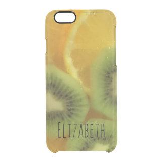 Koel drink Gepersonaliseerd Fruit Doorzichtig iPhone 6/6S Hoesje