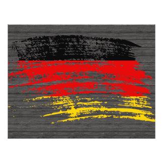 Koel Duits vlagontwerp Folders