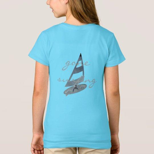 Koel Gegaan surfend de Gepersonaliseerde T-shirt