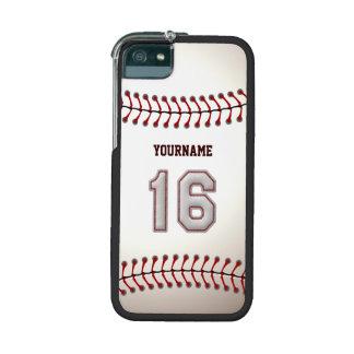 Koel Gestikt Honkbal Nummer 16 iPhone 5 Hoesjes