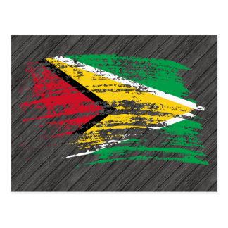 Koel Guinees vlagontwerp Briefkaart