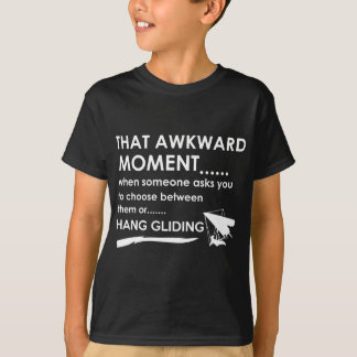 koel hang glijdende bewegingsdesign t shirt