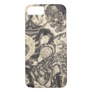 Koel het klassieke vintage Japanse tattoo van de iPhone 8/7 Hoesje