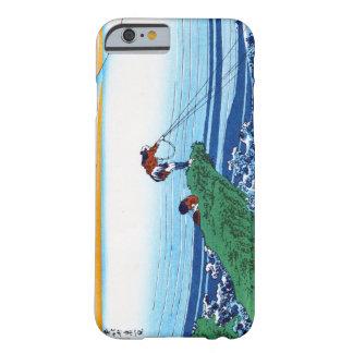 Koel het oosterse Japanse landschap van het Uitzic Barely There iPhone 6 Hoesje