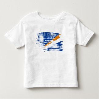Koel Marshallese vlagontwerp Kinder Shirts