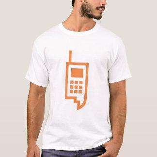 Koel mobiel telefoonafbeelding t shirt