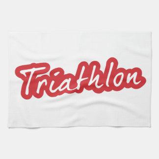 Koel ontwerp Triathlon Theedoek