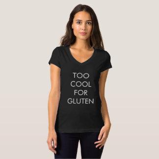 Koel ook voor het T-shirt van het Gluten