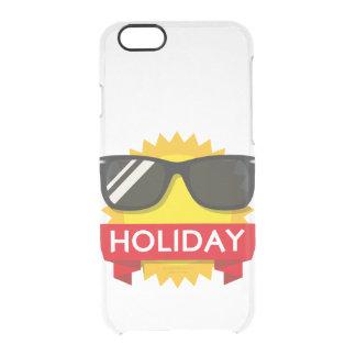 Koel sunglass zon doorzichtig iPhone 6/6S hoesje