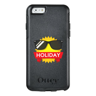 Koel sunglass zon OtterBox iPhone 6/6s hoesje