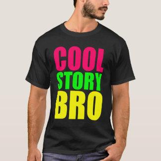 Koel Verhaal Bro in de Kleuren van de Stijl van T Shirt